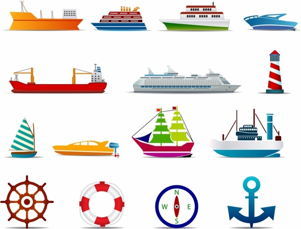 Yacht clipart water vehicle (699 commercial Boats ships vector)