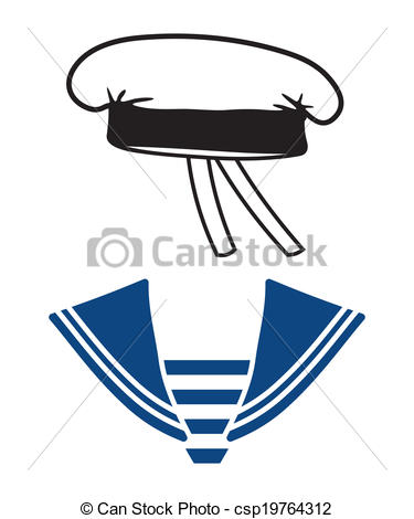 Scarf clipart sailor #1
