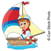 Sailor clipart telescope Sailor Illustrations 14 sailor
