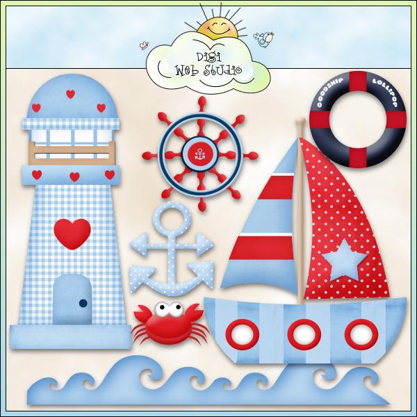Sailor clipart boat  Clip Clip Sea Sea