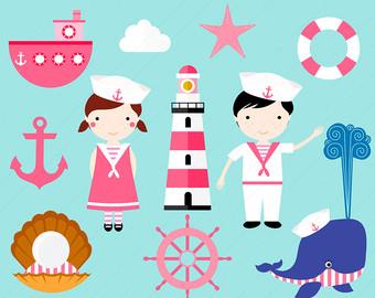 Sailor clipart boat Digital Boat Sailor /