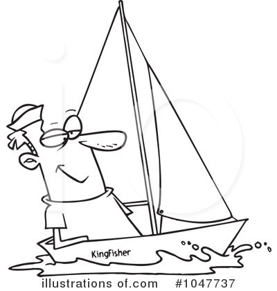 Sailor clipart sailing #1047737 toonaday toonaday by Illustration