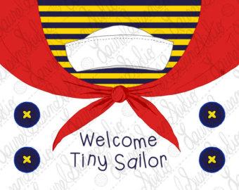 Scarf clipart sailor #9