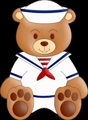 Sailor clipart teddy bear Happy) Clipart Bear ChildrenRisksFiguresPaintingDrawings (luh