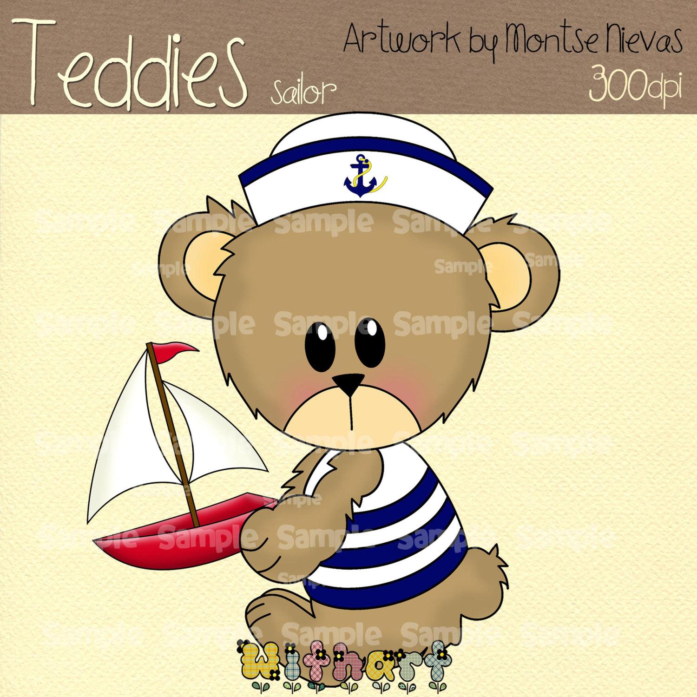 Sailor clipart teddy bear Sailor for set item? images