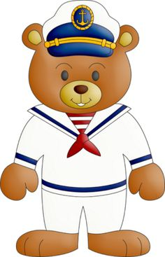 Sailor clipart teddy bear Sailor Digi Imagens: stamps Clipart