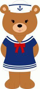 Sailor clipart teddy bear Girl bear Pinterest on Bears