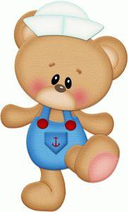 Sailor clipart teddy bear In BearsWalkingSilhouette Silhouette Online I'm