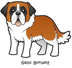 St. Bernard clipart Dog Saint A your Dog