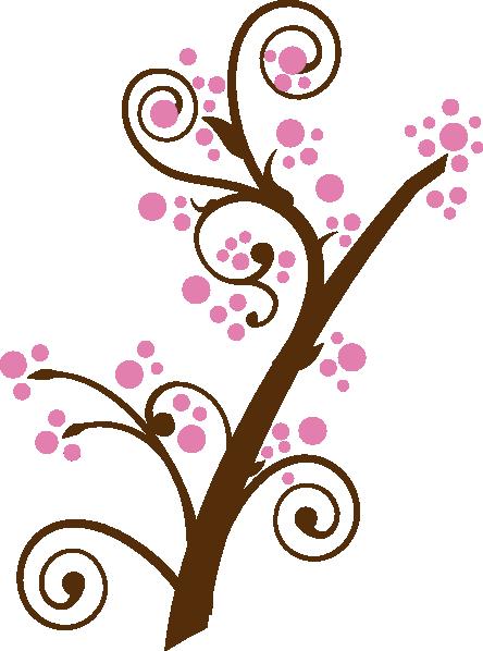 Cherry Tree clipart small Clker art Plum clip Download