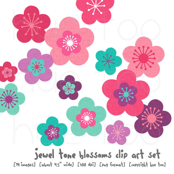 Blossom clipart pink blossom Free Cliparts Flower  clipart