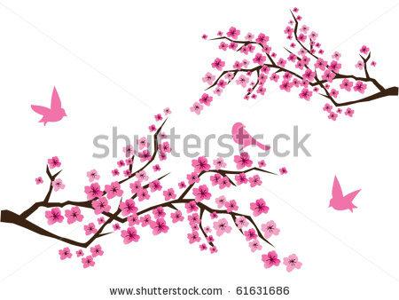 Sakura Blossom clipart kartun #3