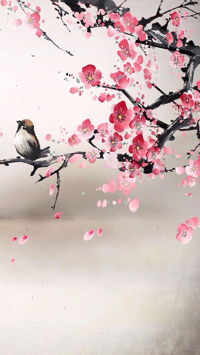 Sakura Blossom clipart tumblr backgrounds #12