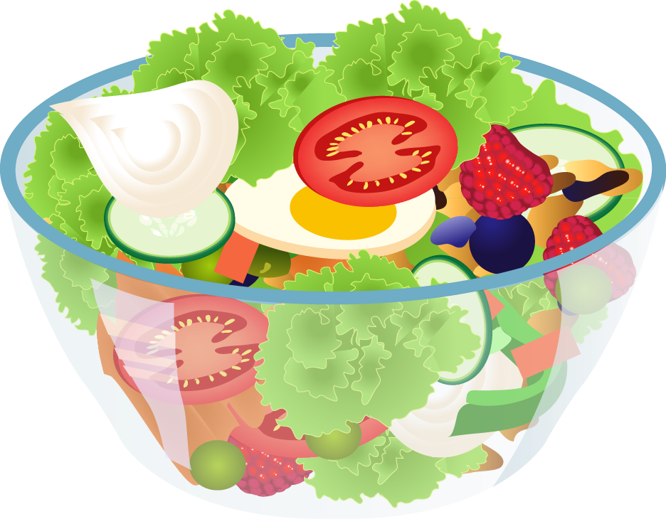 Fresh clipart salad bar Free Art of Clip Bowl