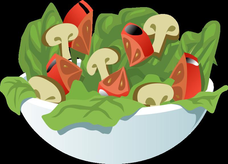 Salad clipart Free Salad Use of Domain