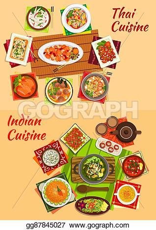 Salad clipart dinner menu For  oriental Thai dishes