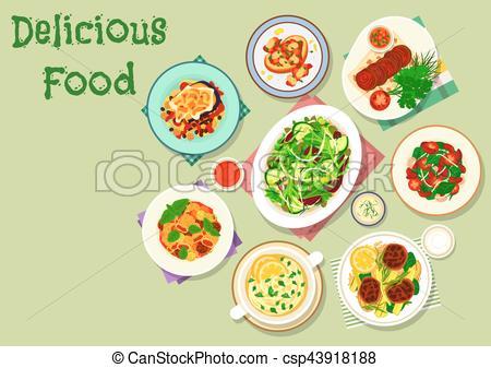 Salad clipart dinner menu Icon food dinner Comfort menu