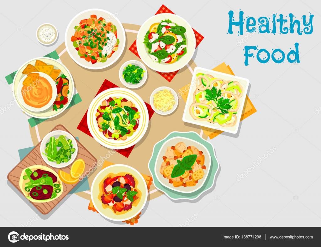 Salad clipart dinner menu Dinner — icon #138771298 for