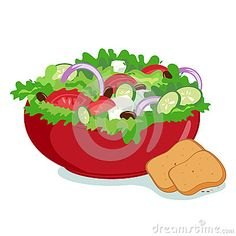 Salad clipart mixture Image Results Art  Dressing