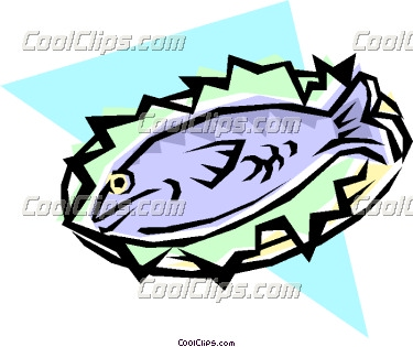 Tuna clipart fish dinner #3