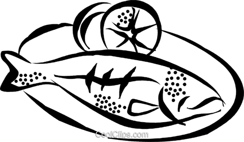 Tuna clipart fish dinner #2