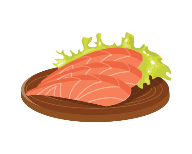 Salmon clipart grilled fish #1