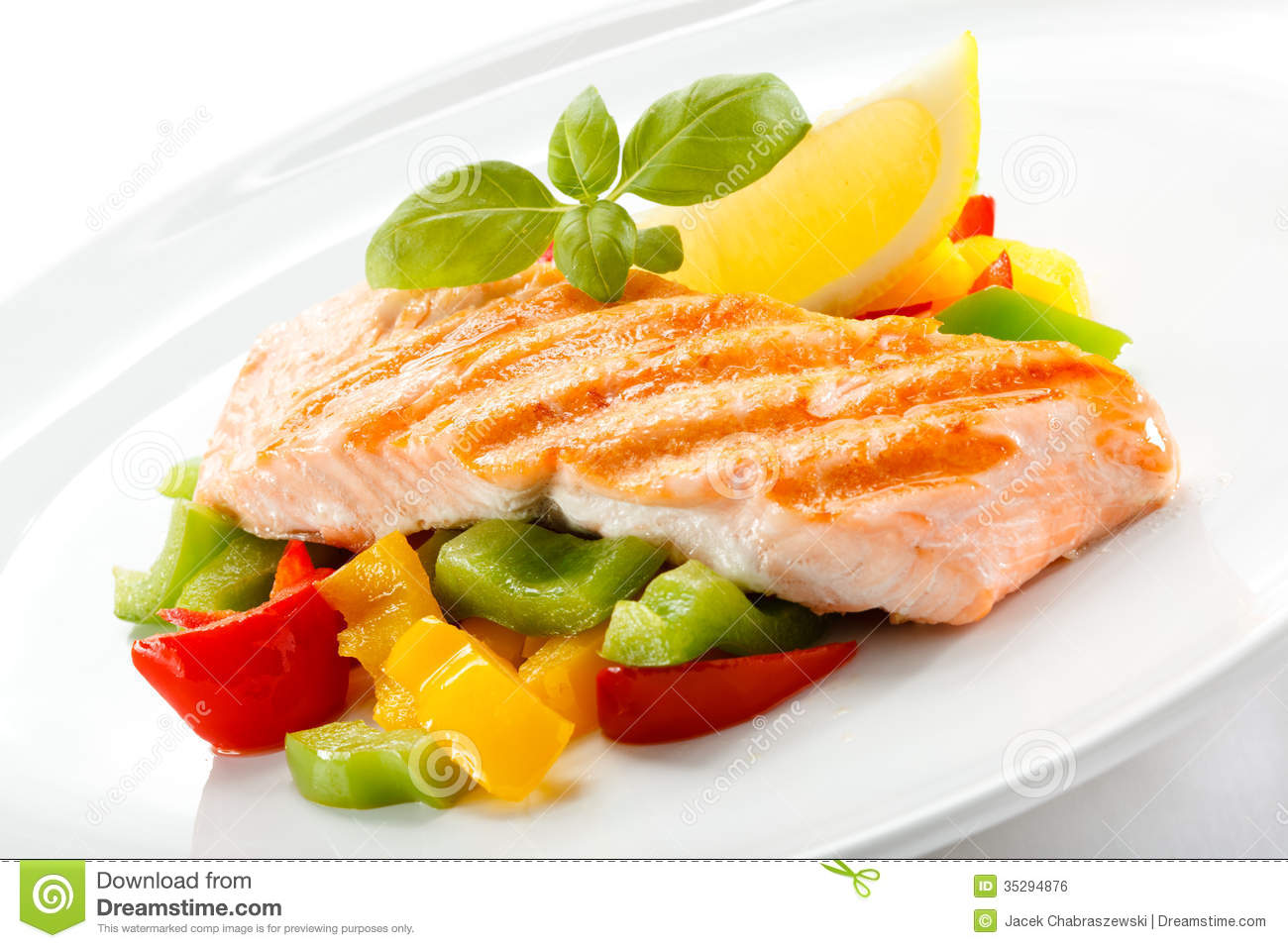 Salmon clipart grilled fish #2