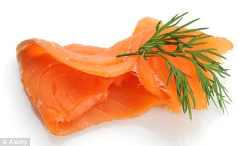 Salmon clipart orange fish #3