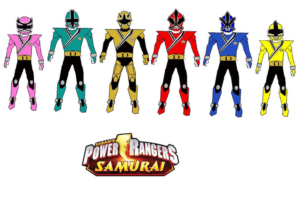 Samurai clipart power ranger #14