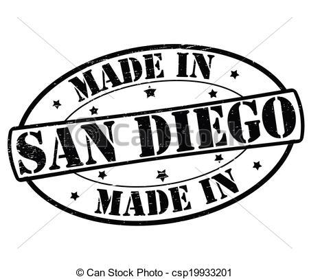 San Diego clipart Diego text Clipart Diego Vector
