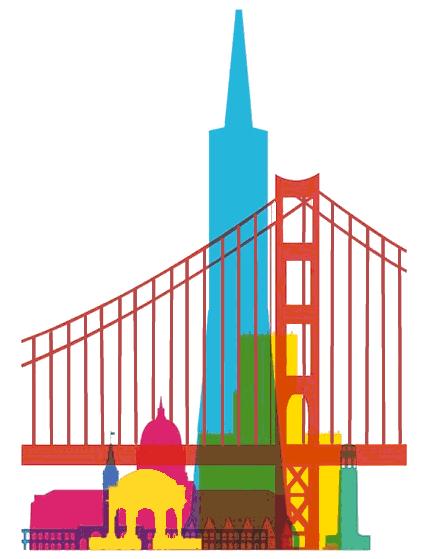 San Francisco clipart Art Francisco Francisco Clip Clipart