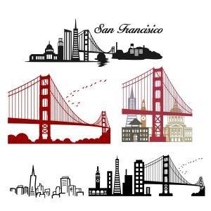 San Francisco clipart  Francisco Gate Francisco Vector