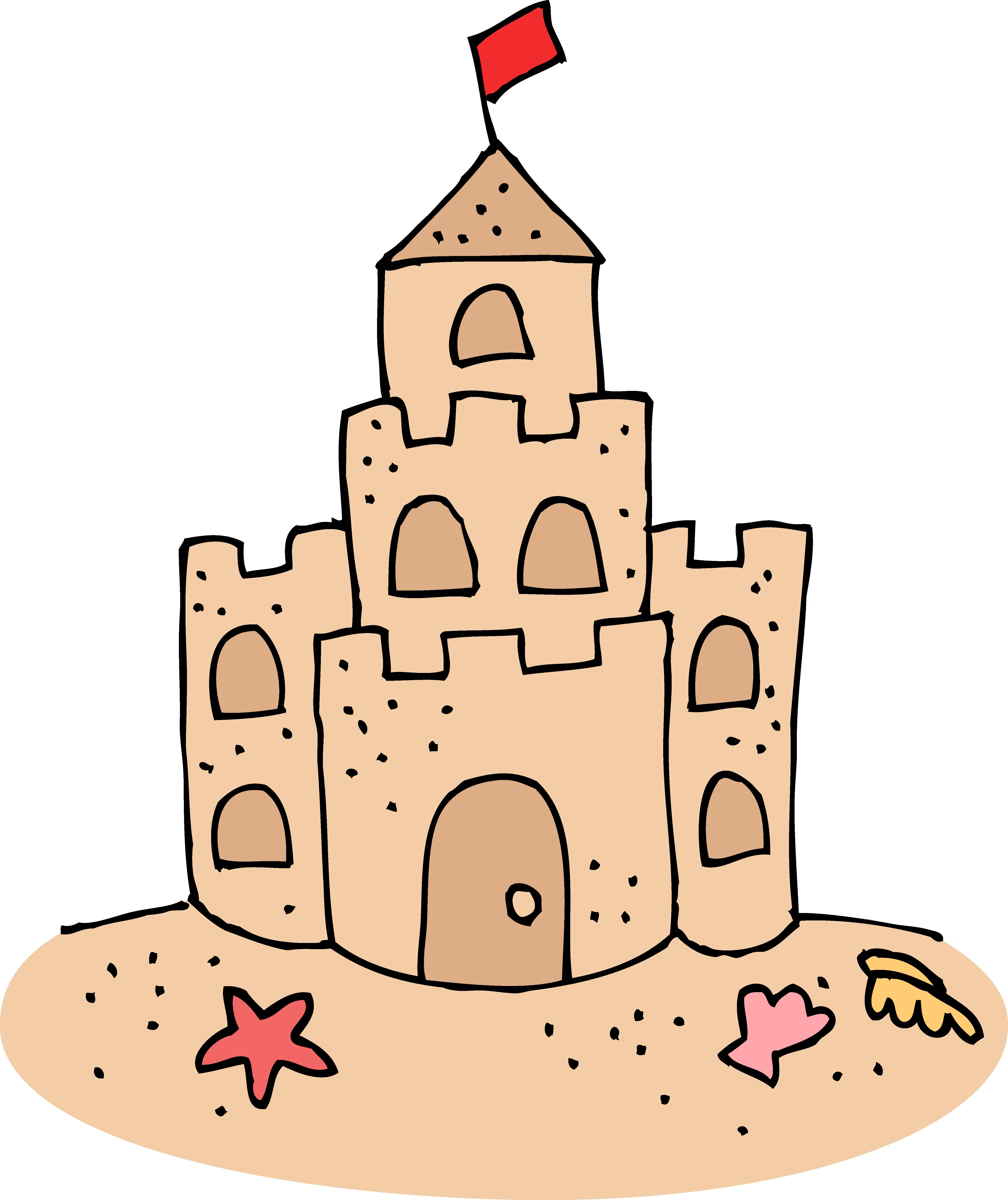 Sand Castle clipart Castle Cute Art Clip Sand