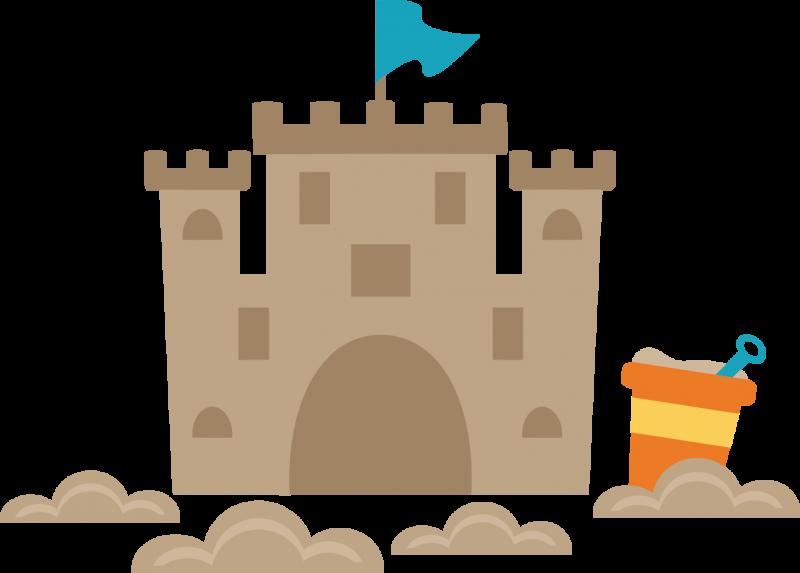 Sand Castle clipart Clipart Sand border castle clipart