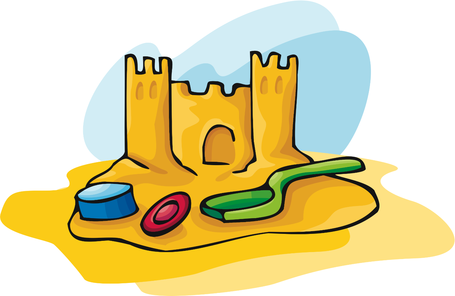 Sand Castle clipart Clipart And  Clipart Sand