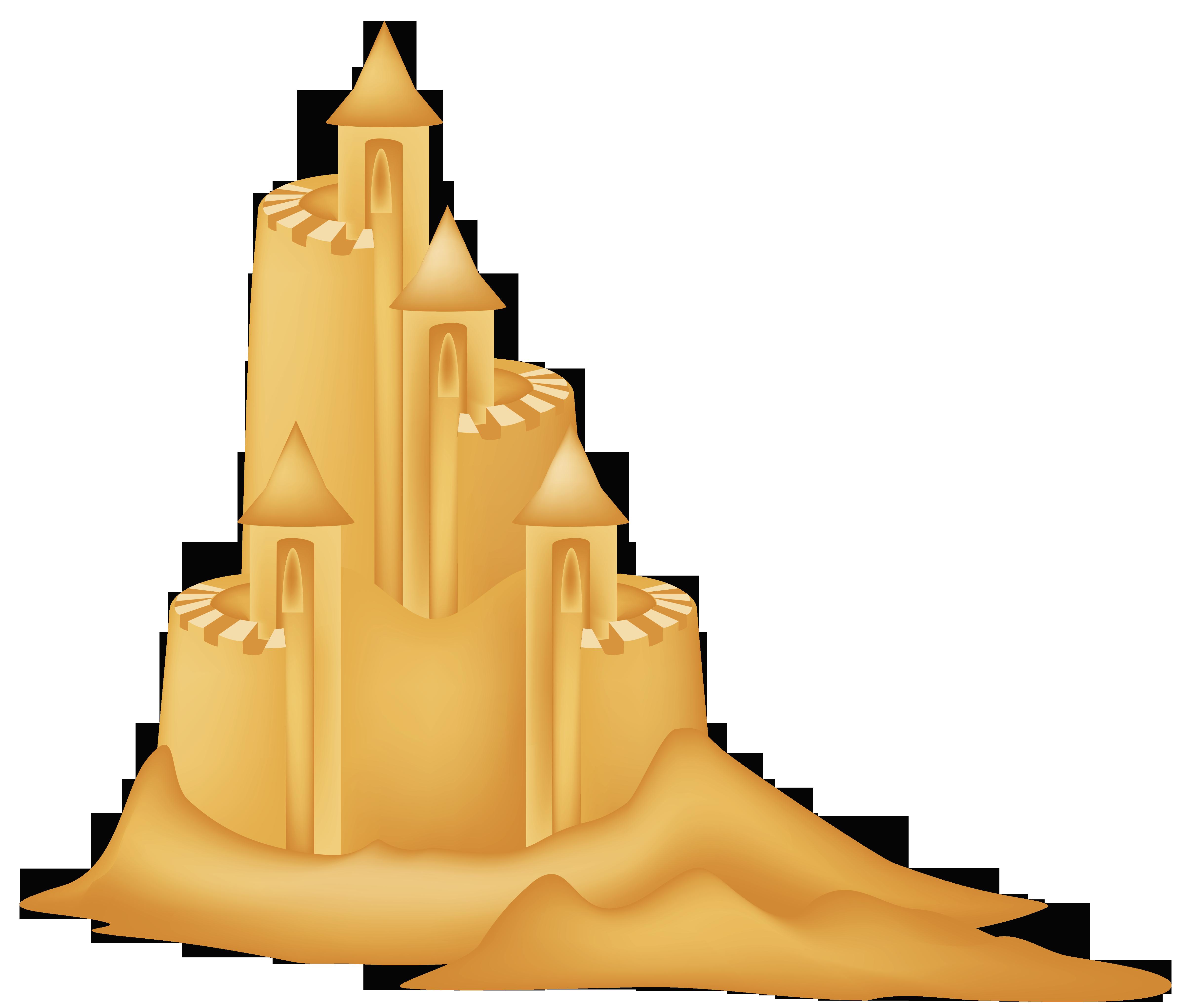 Sand Castle clipart Clipart castle picture castle Sand