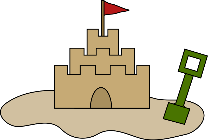 Fortress clipart cute Clipart Sandcastle Free Clipart Images