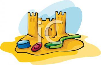 Sand Castle clipart beach toy #1