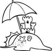 Sand Castle clipart beach toy #5