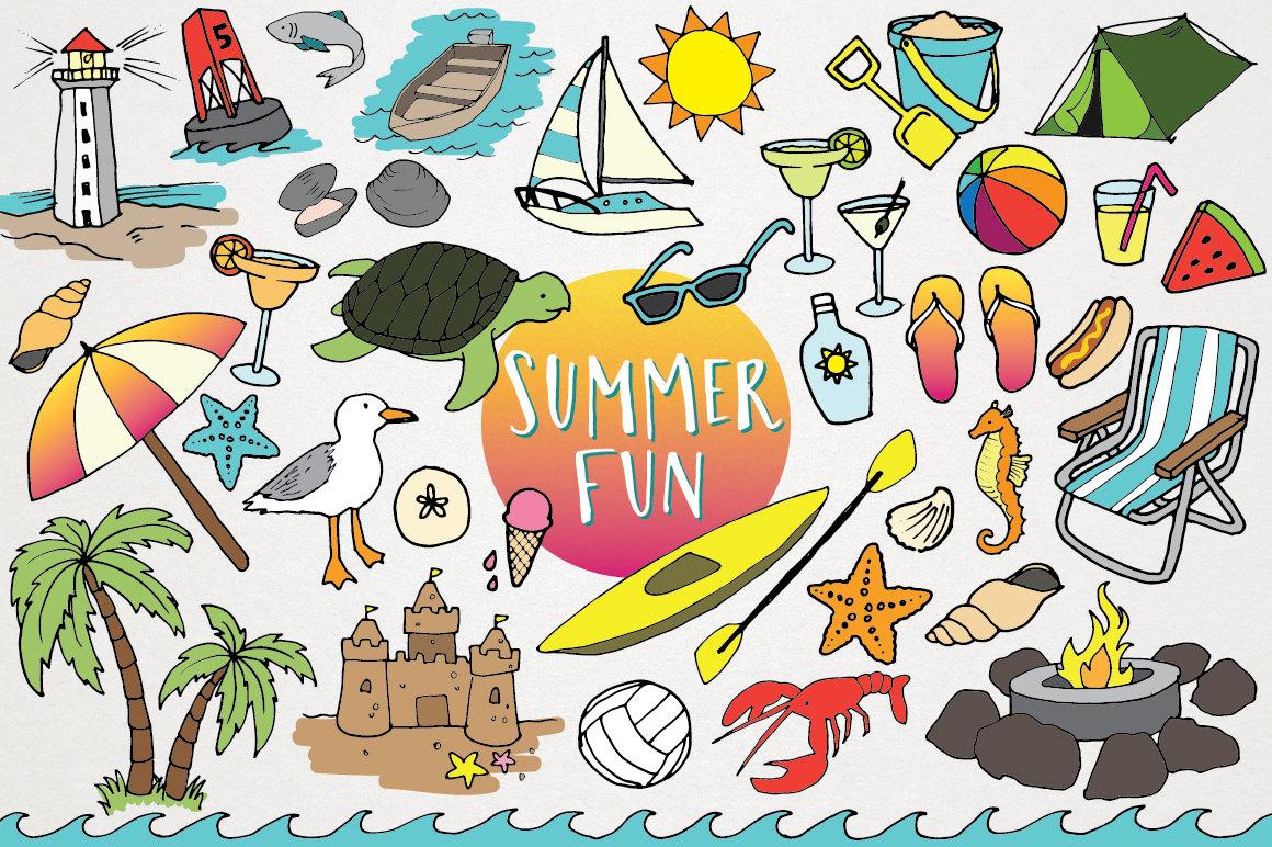 Sand Castle clipart hot summer season Clipart Beach flops Beach clip