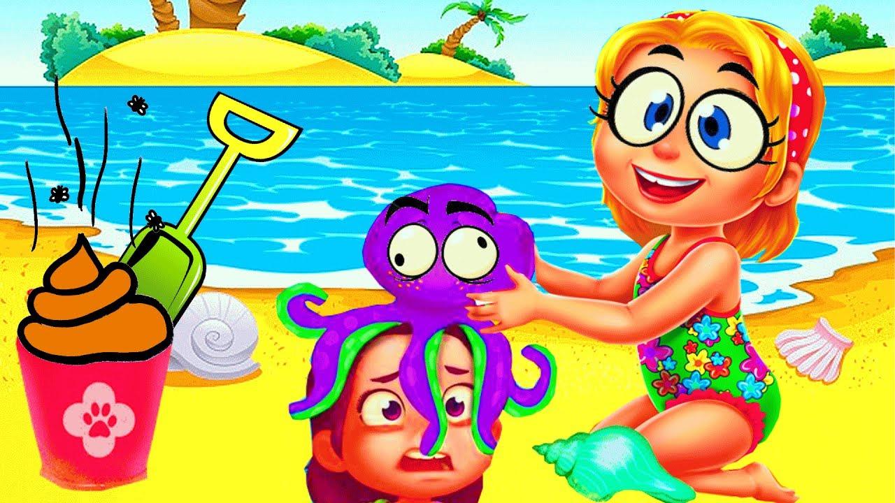 Sand Castle clipart hot summer season Baby Fun  Game Summer