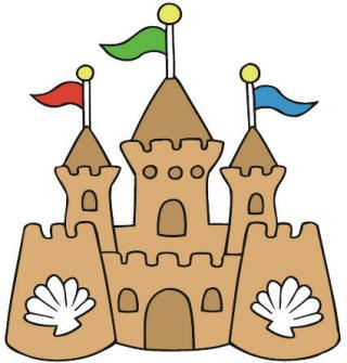 Sand Castle clipart summer activity And Children images NYÁR Activities