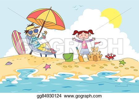 Sand Castle clipart summer activity In sand camp Clipart making