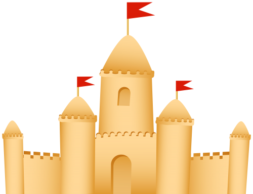 Plumeria clipart sand castle Castle Sand Sand WEB Best