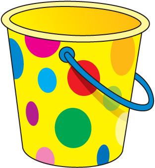 Yellow clipart pail Sand Clipart filler art clip