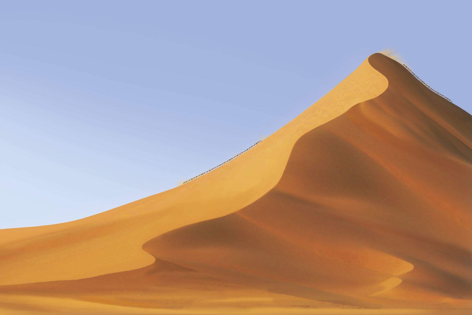 Sahara clipart sand dune #1