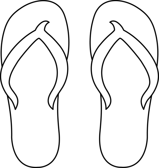 Sandal clipart summer thing Clipart cliparts Sandals Free Sandals