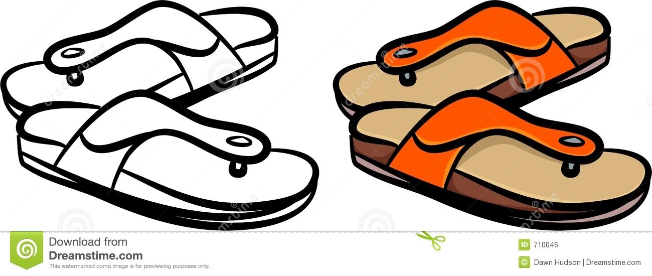 Sandal clipart #15