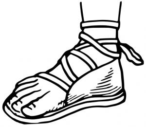 Sandal clipart #10