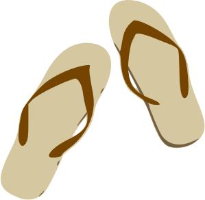 Sandal clipart #4